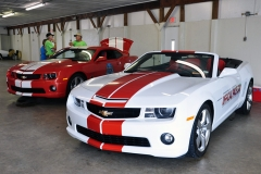 2010 Camaro Indy Pace Car with  2011 Camaro Indy Pace Car