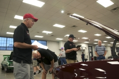 Concours Judging at Camaro Nationals